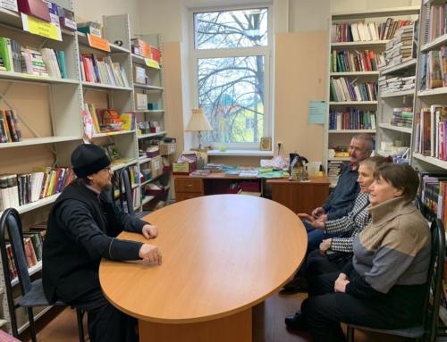 Первая беседа в «Комплексе реабилитации инвалидов «Контакт»