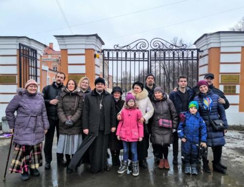 Паломническая поездка в музей Санкт-Петербургской епархии