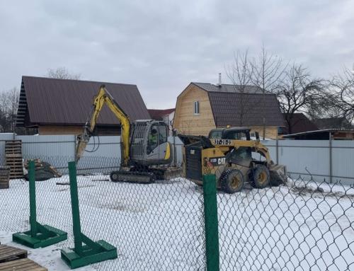 Мероприятия по подготовке территории к началу строительства основного Дома трудолюбия.