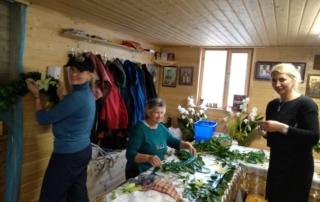Hramovaya floristika